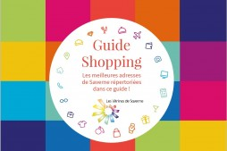 Couverture guide shopping Saverne 2016
